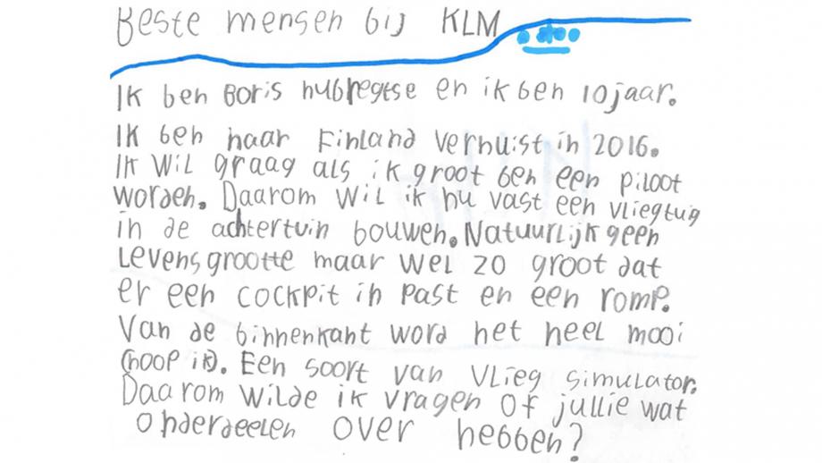 Webcare KLM