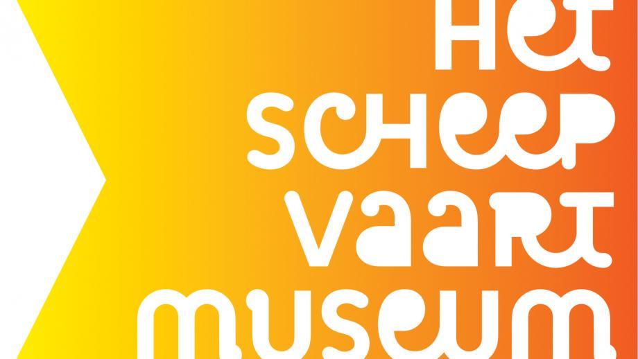 Het oude logo met uitbundige kleuren en vrolijk lettertype.