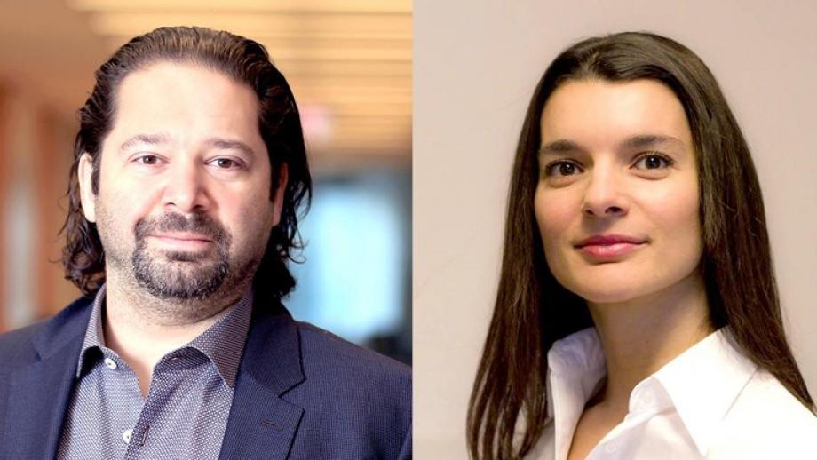 Jason Heller en Biljana Cvetanovski van McKinsey