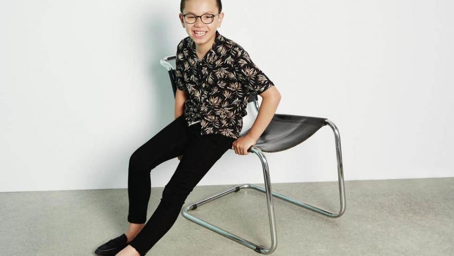 Alfie Aldridge voor H&M