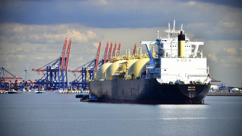 Een LNG-tanker