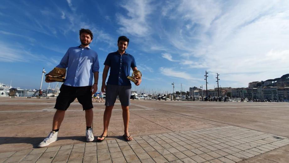 Diego Machado en Hugo Veiga