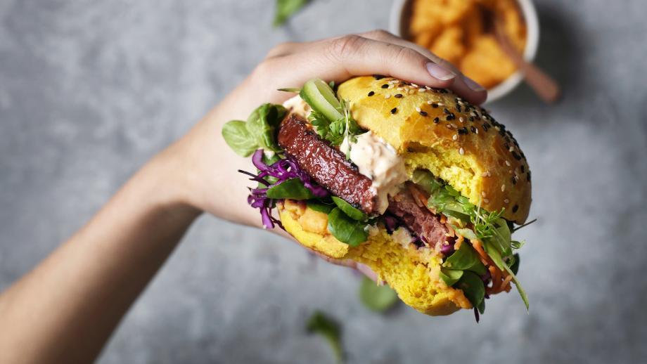 Vegetarische burger van Garden Gourmet