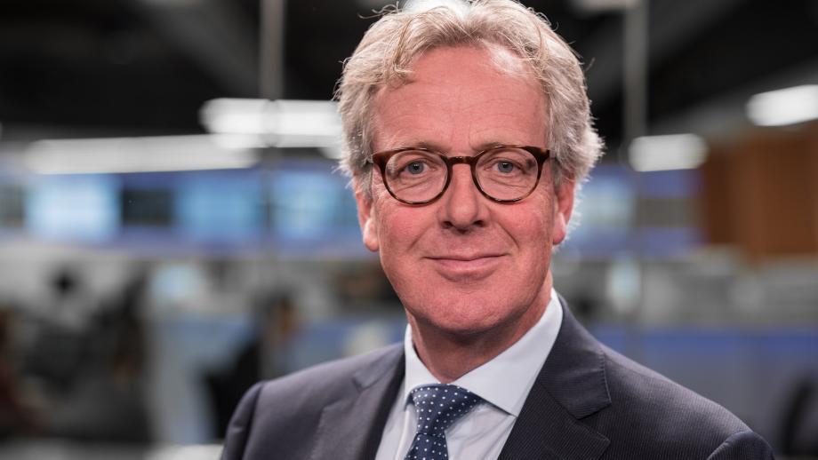 Mike Ackermans, de hoofdredacteur van het CBS