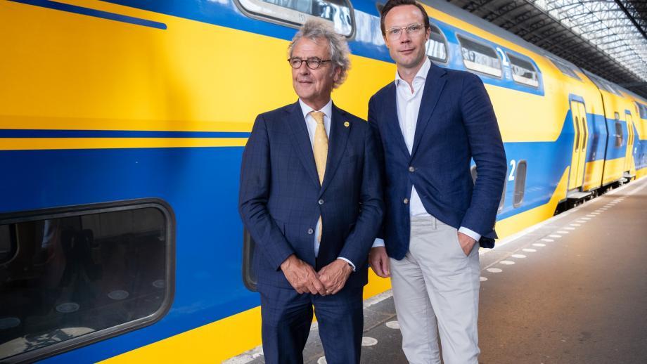 Roger van Boxtel (l) en Bartho Boer