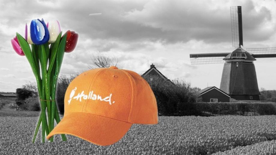 Promotiemateriaal met Holland