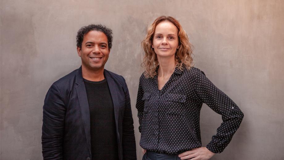 Michel Mac Donald & Corinne Bolink. Foto: Robin Horman