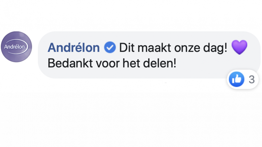 Reactie Andrelon