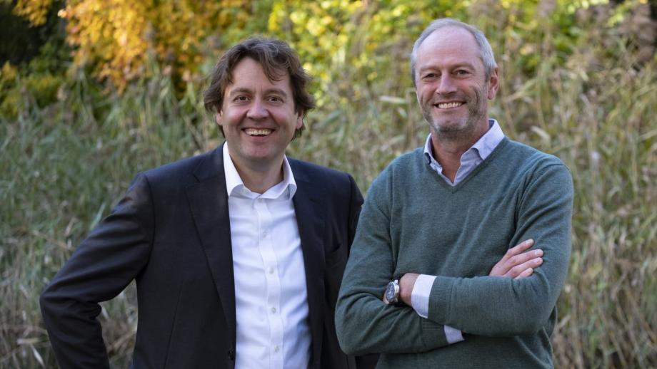 Xavier Tilman (links) en Meinder van den Heuvel
