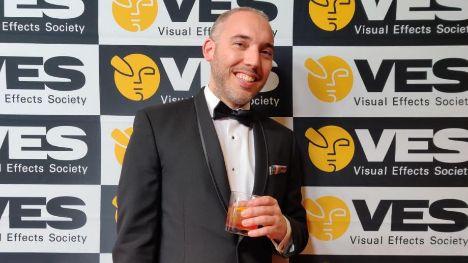 Boyo Frederix wint 2 VES Awards in Los Angeles