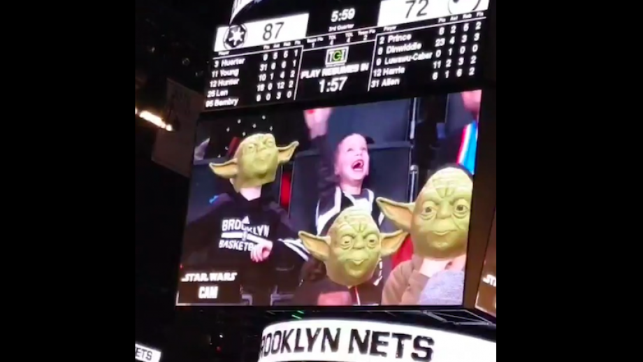 ENTERTAINMENT bij de Brooklyn Nets