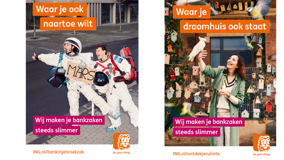 ING-campagne posters