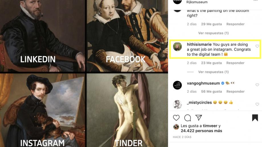 Afbeelding: Reacties Rijksmuseum