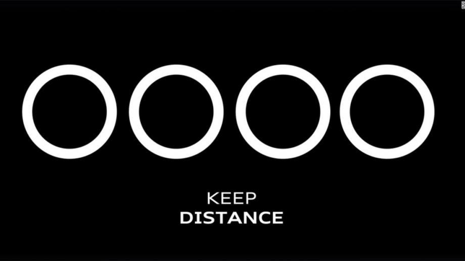 Audi - Houd afstand