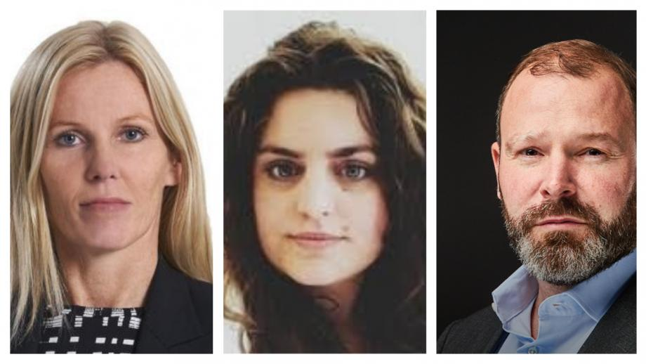 Mariëlle Krouwel, Sibel Kilinc, Sascha Becker
