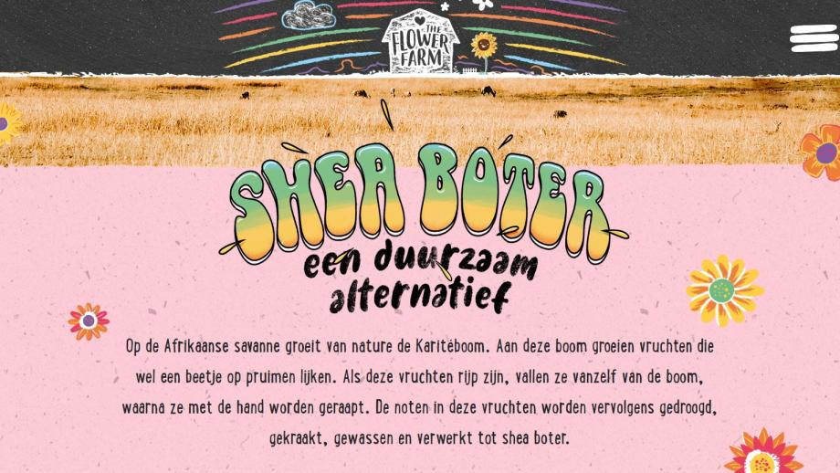 Shea butter, duurzaam alternatief?