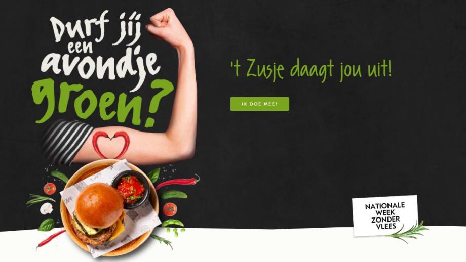 Restaurantketen 't Zusje biedt een geheel vegetarisch menu aan.