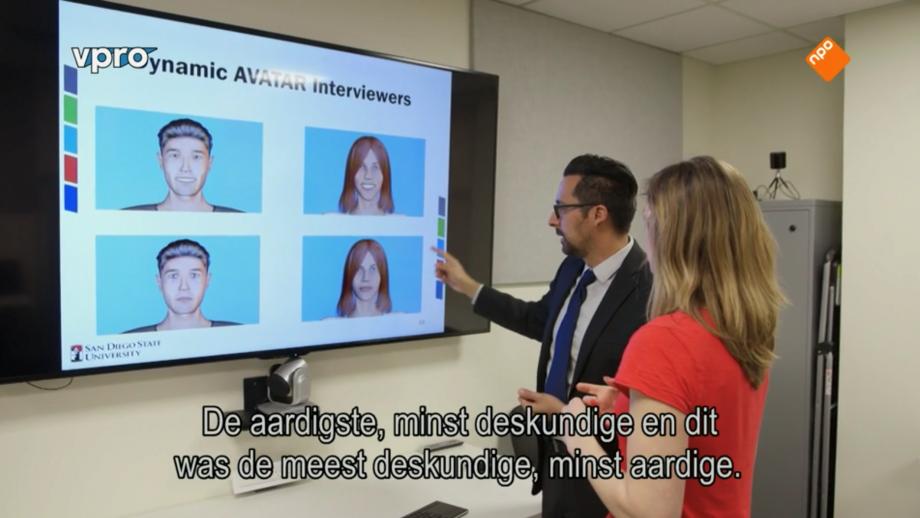 Mensen projecteren stereotypische denkbeelden ook op virtuele mensen.