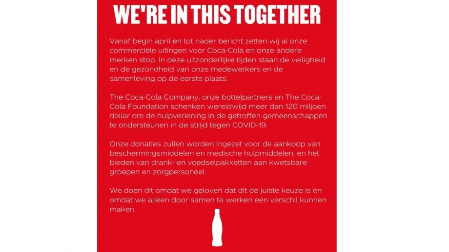 mededeling coca-cola