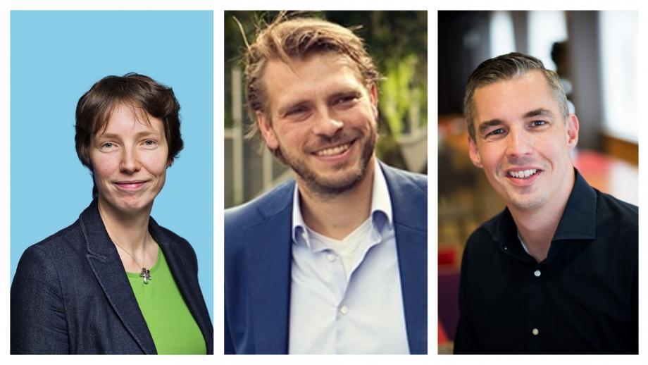 Kirsten Verdel, Guido Stein, Lodewijk van Noort
