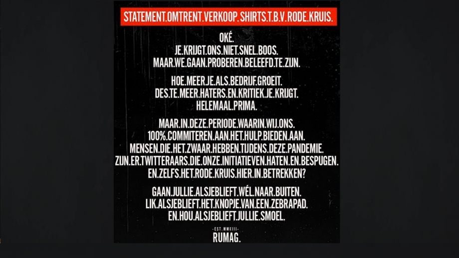 rumag-statement
