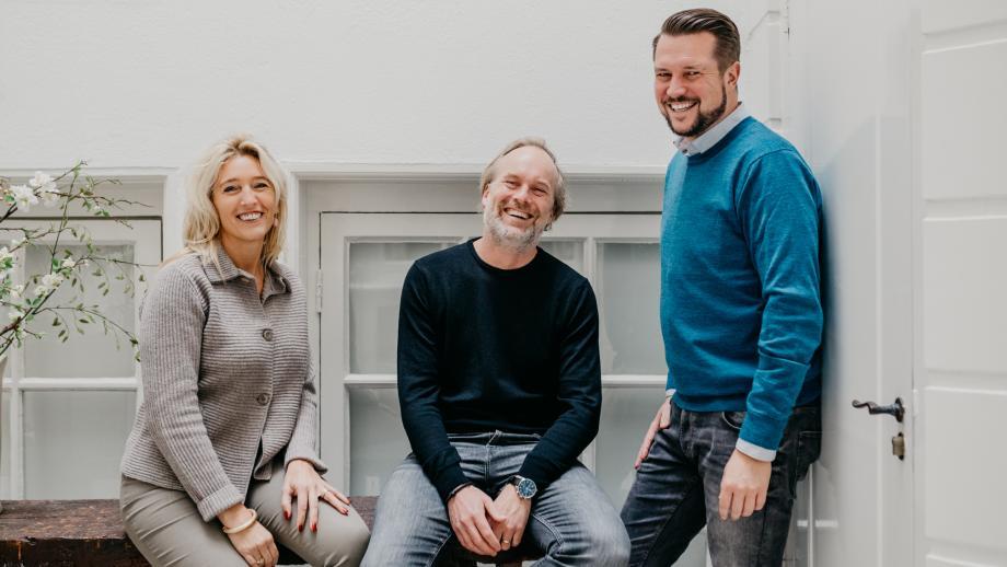 Peters, Breijer en Gooijer bij de oprichting