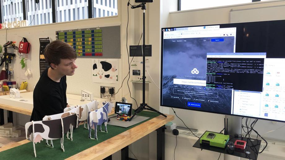 De Makerspace van Mirabeau, waar ze experimenteren met multi-sensory design.
