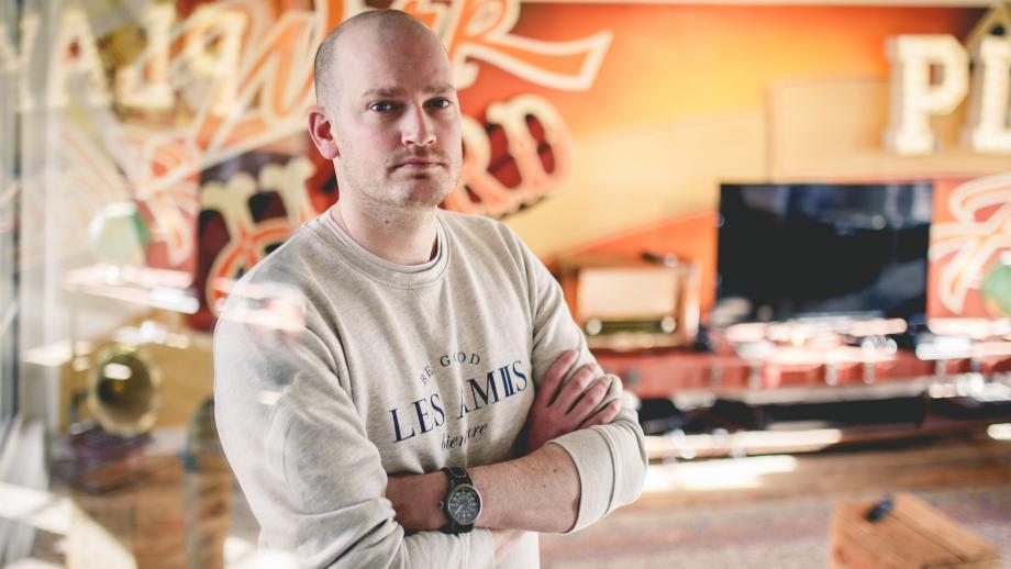 Niels van Esch, Managing Partner en Executive Producer bij SuperheroCheesecake.