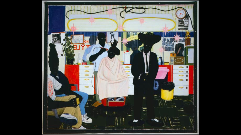 """De Style"", Kerry James Marshall, 1993"