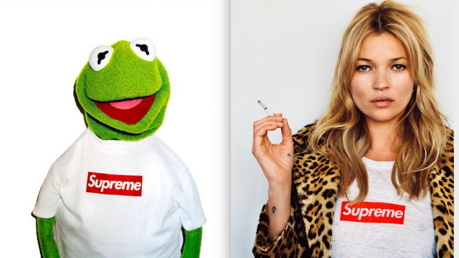 Het box-logo van Supreme