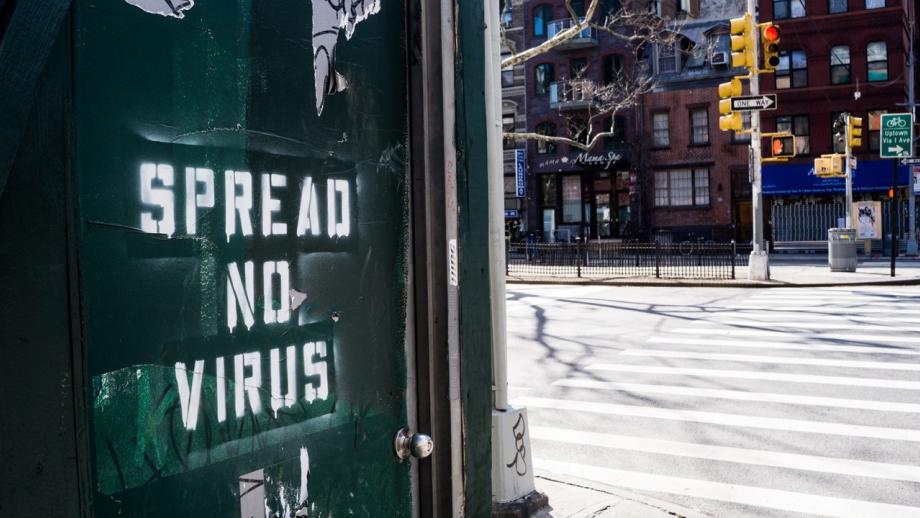 Spread no virus - New York