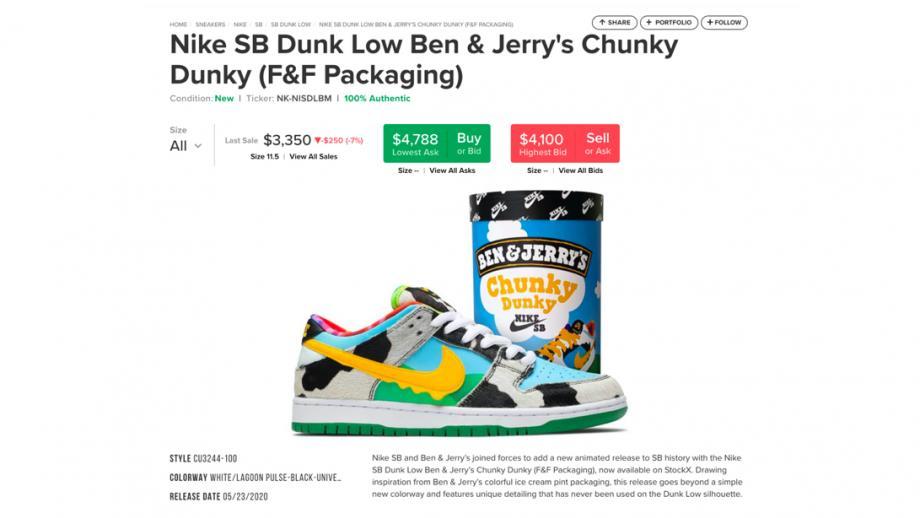 Chunky Dunky doet het goed op de sneaker-beurs