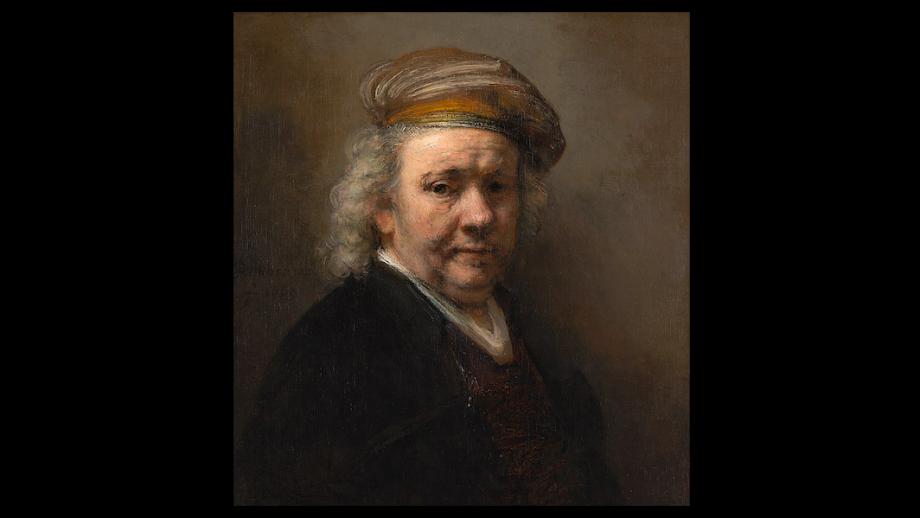 Rembrandt van Rijn, Zelfportret, 1669, olieverf op doek, 65.4 x 60.2 cm