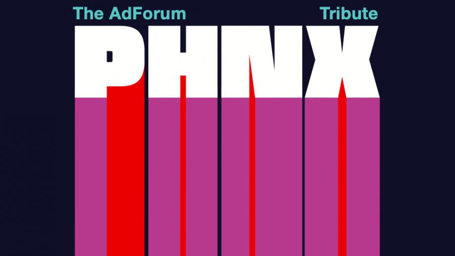 De visuele identiteit van PHNX is van het Nederlandse ontwerpbureau Addikt