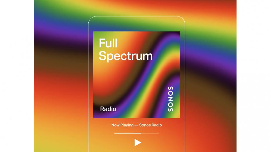 Sonos lanceert radiozender Full Spectrum ter ere van Pride