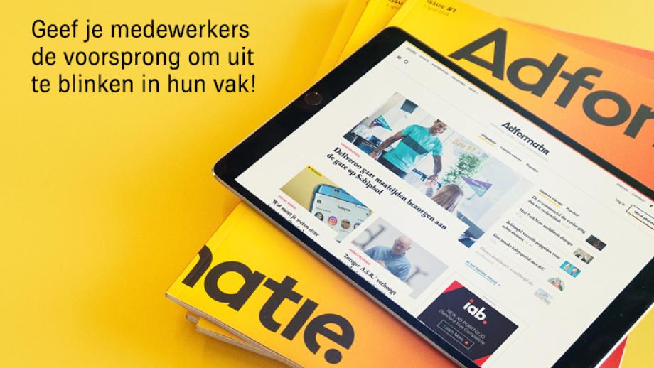 Adformatie bedrijfsabonnementen magazine