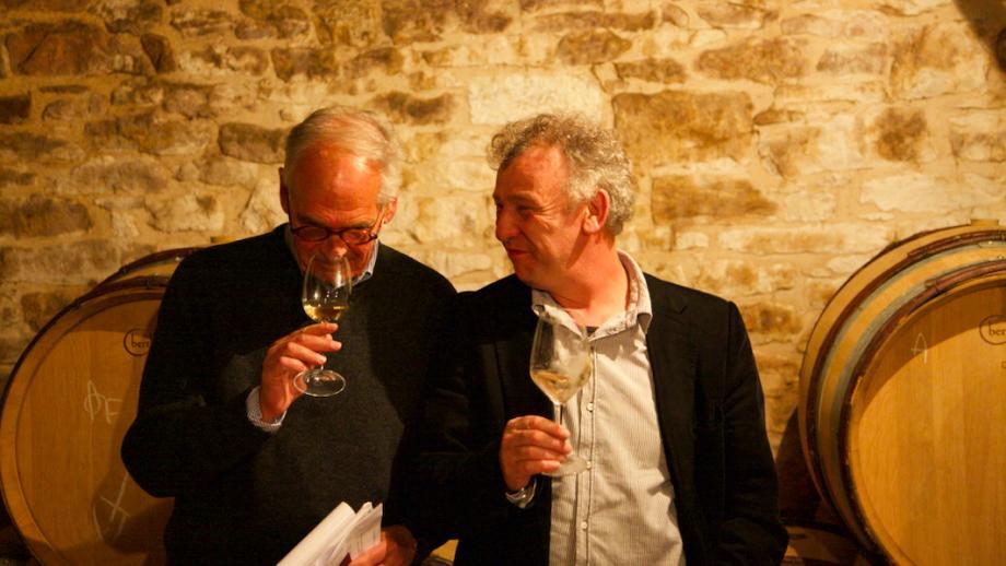 Jean-Marie Guffens rechts