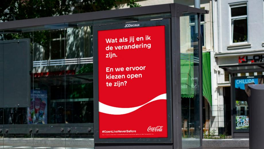 Coca-Cola lanceert eerste campagne sinds lockdown: 'Open Like Never Before'