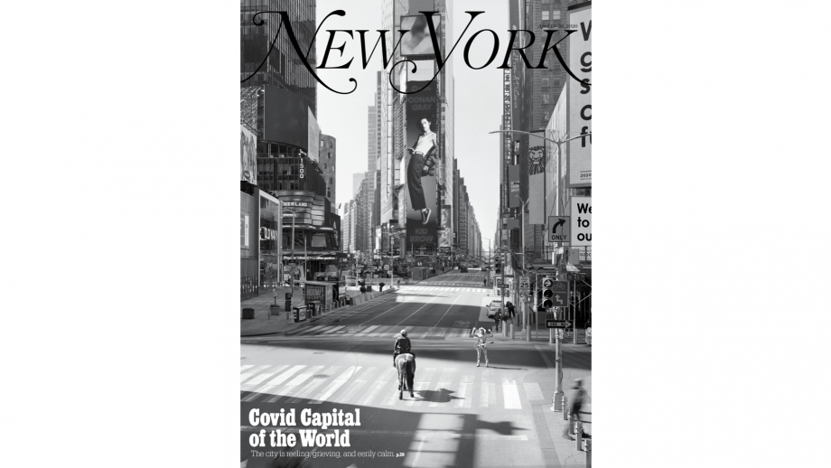 'Covid capital of the world', New York magazine, 13 april 2020