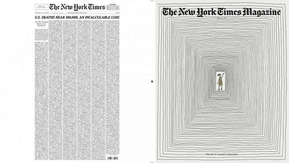 New York Times covers