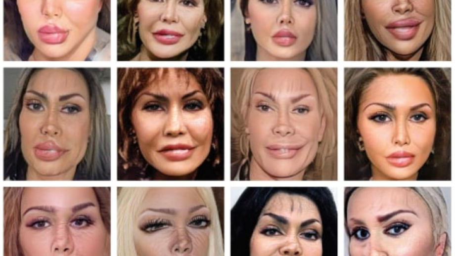 Grid Destroy my Face, Erik Kessels, 2020