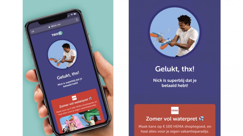 Hema voert als eerste merk campagne binnen de Tikkie app