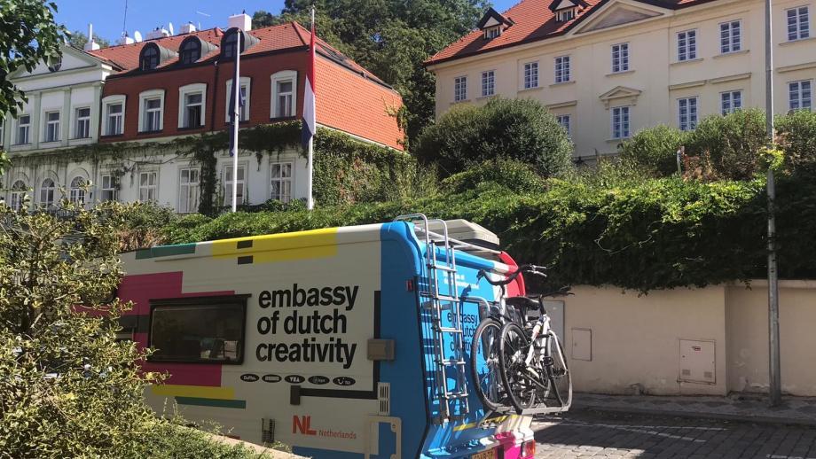 Hetreisverslag van The Embassy of Dutch Creativity on tour