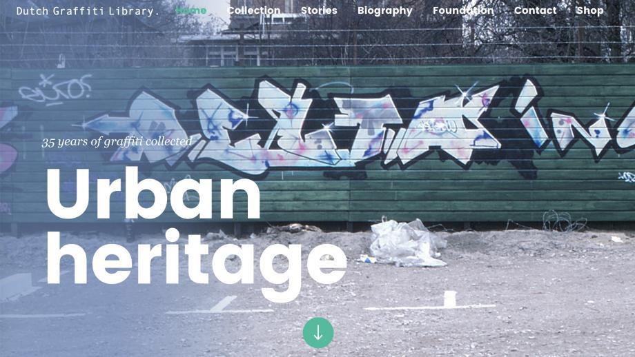 Dutch Graffiti Library