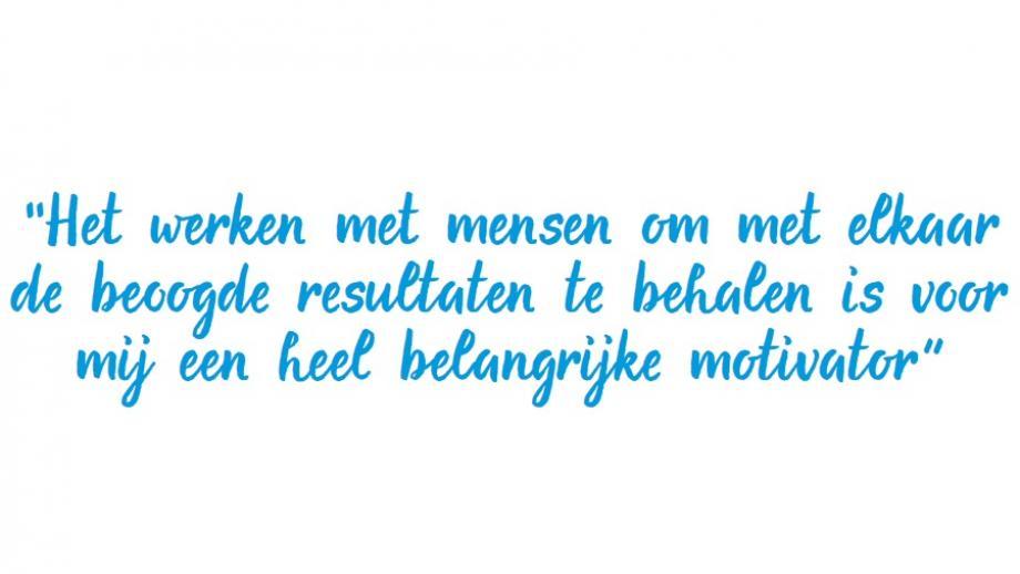 Het motto van Pieter Veuger