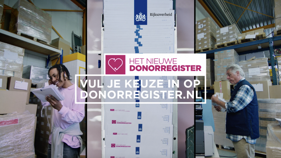 Campagne: Vul je keuze in op donorregister.nl