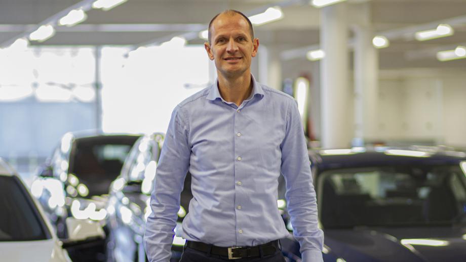 Maurice Hazelebach van BMW Dubbelsteyn.