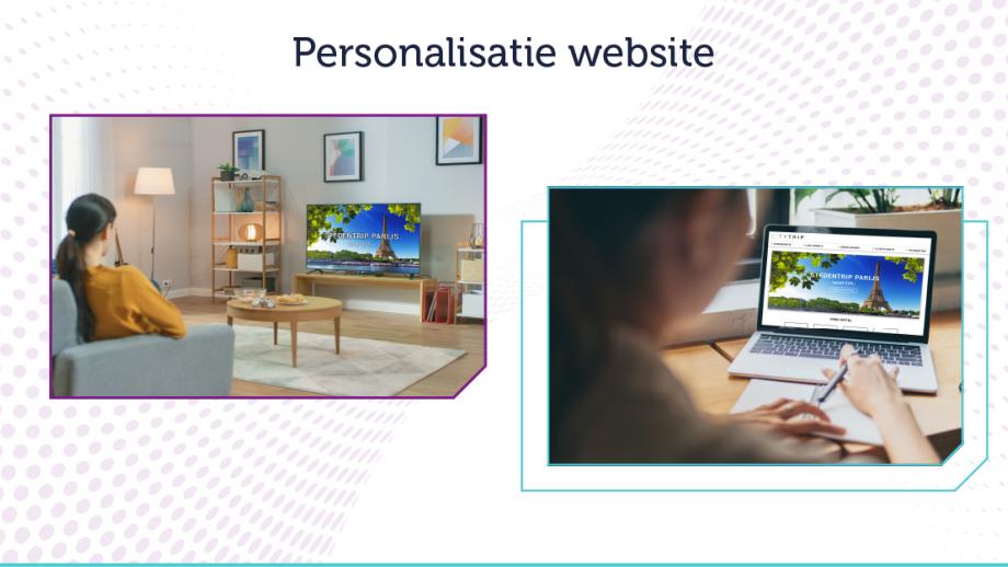 Personalisatie website