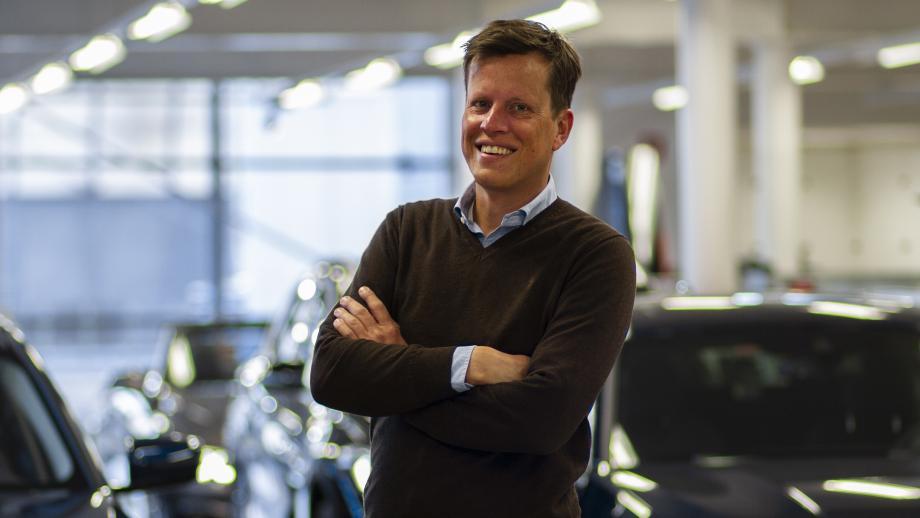 Christiaan Dols, één van de directeuren van Dubbelsteyn | De Fonkert BMW & MINI
