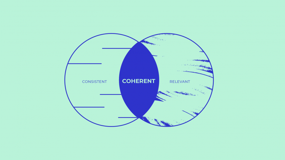 Coherent = Consistent + Relevant